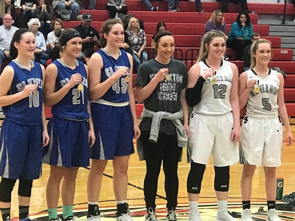 Courtney Austin receiving all tournament team honors