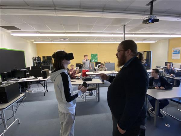 ITCS Students experience Virtual Reality