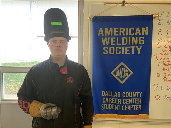 Another Certified Welder!
