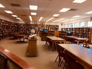 This is a photo of the Buffalo High School Library Media Center.