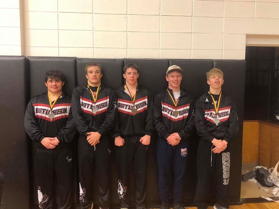 Wrestling Victory at Cameron Dual Tournament